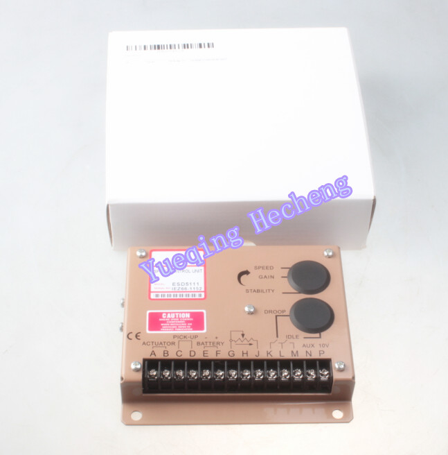 Electronic Engine Speed Controller Governor 5111 5111E Generator Genset Parts dse702 as genset controller electronic auto start controller module generator