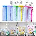 45*35 cm Banheiro Organizador com Sucção Net Banho Do Bebê Brinquedo Do Bebê Criança Brinquedo Organizador De Armazenamento Pendurado Organizador