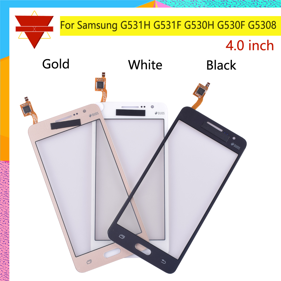 50Pcs lot G530 G531 TouchScreen For Samsung Galaxy Grand Prime G531H G531F G530H G530F G5308 Touch