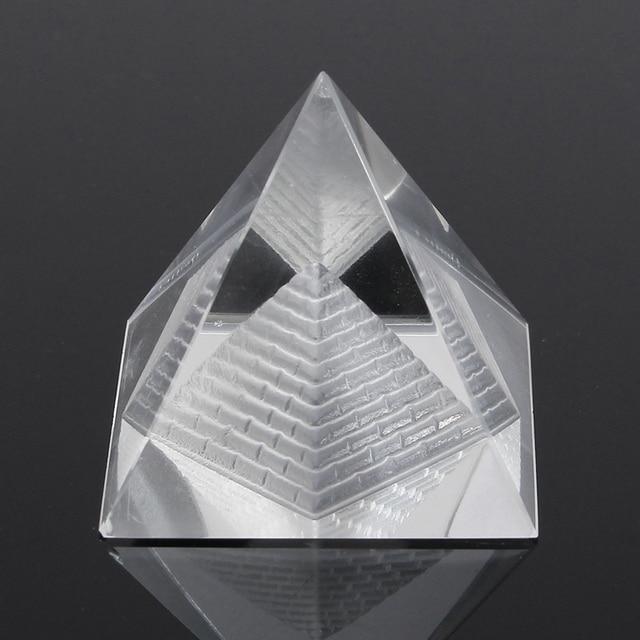 Fashion Ägypten Ägyptischen Natürlichen Kristall Klar Quarz Pyramide Hause  Schreibtisch Dekor Geschenk Wohnzimmer Dekoration Kristall Ornament