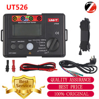 Original UNI T UT526 Electrical Insulation Tester Earth Resistance Meter + 1000V+RCD Test+Continuit Highly Accurate
