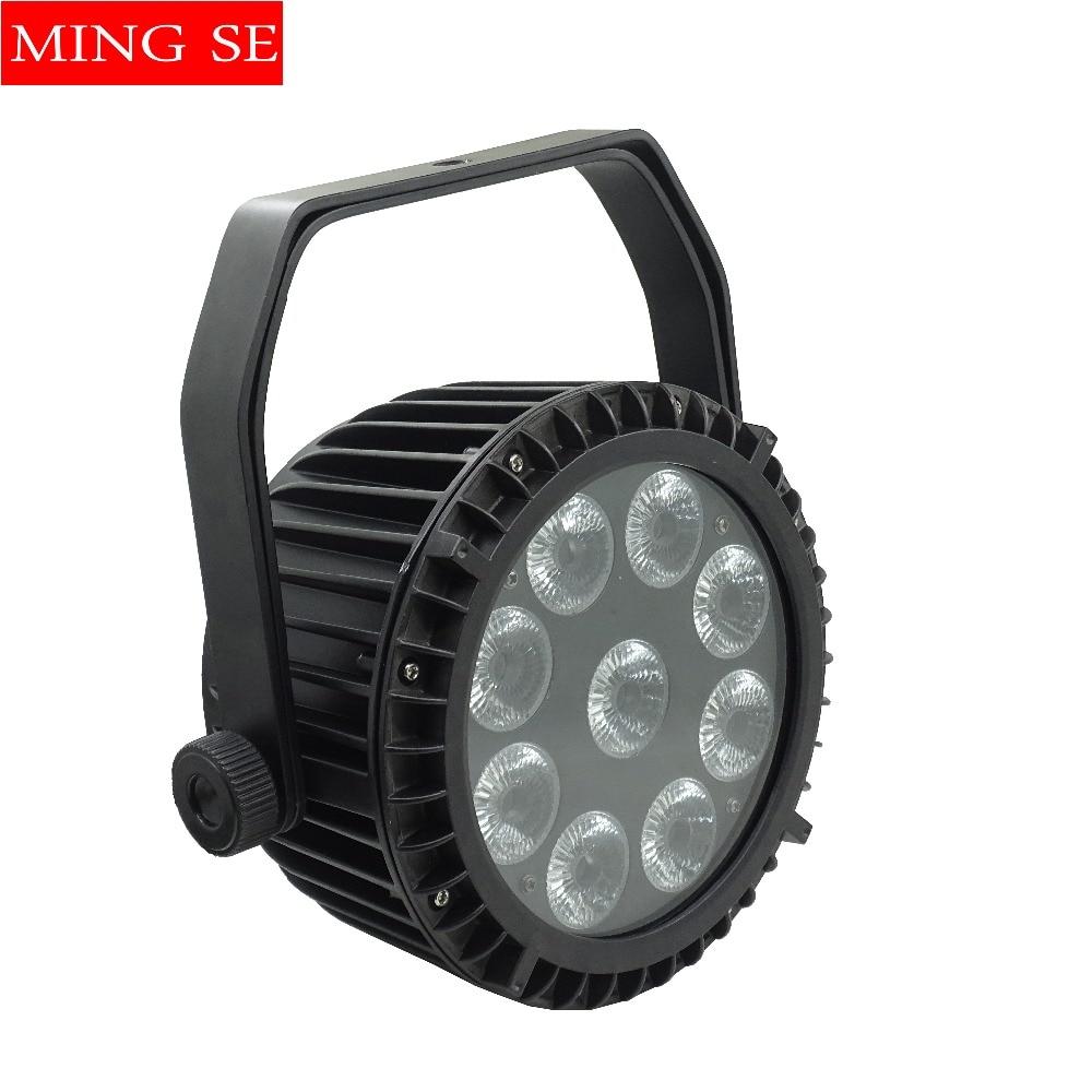 IP65 Waterproof Led Par Light 9*10W 4in1/ 9x15w 5in1 / 9x18w 6in1 Outdoor Waterproof Stage Light 9x10w Big Lens Led Par 64