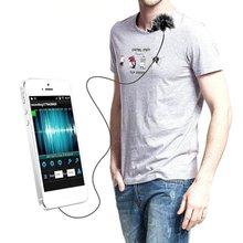 Commlite CVM-V01SP Comica петличный микрофон клип на всенаправленный конденсаторный микрофон для смартфонов