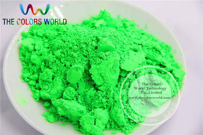 TCFG-611 Green neon Colors Fluorescent Neon Pigment Powder for Nail Polish&Painting&Printing 1 lot= 50g