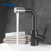Frap Modern Style Basin Faucet Cold And Hot Water Mixer 360 Degree Rotation Tap Single Handle