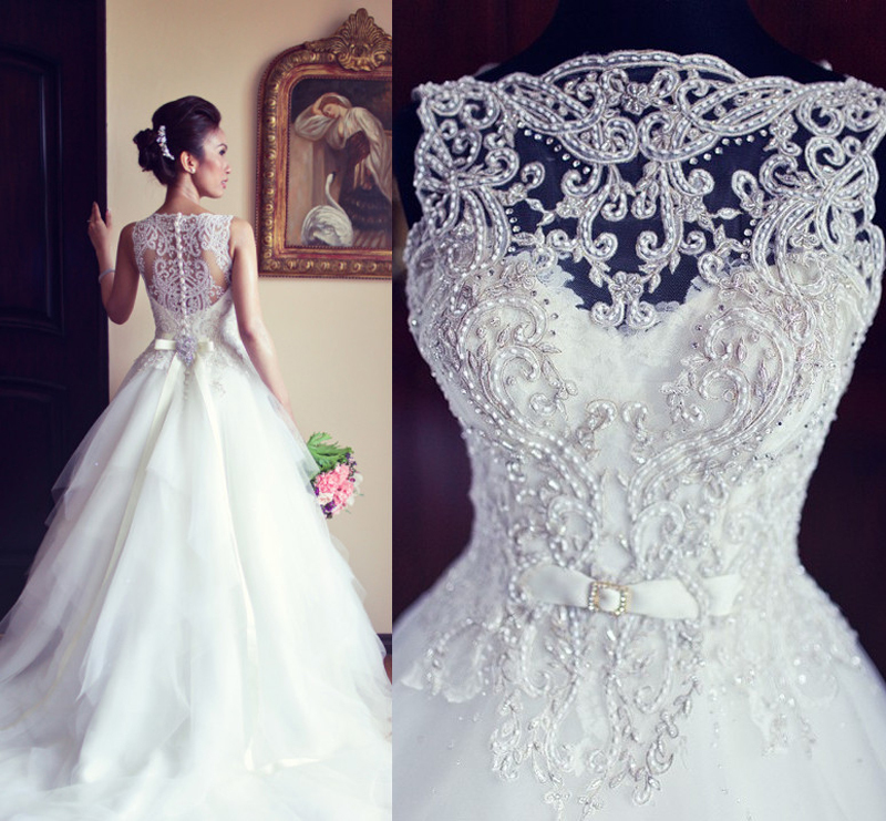 Compare prices on sparkly wedding dress online shopping for Crystal design wedding dresses price
