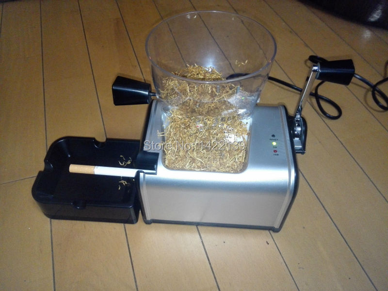 Electric Cigarette Rolling Machine Automatic Tobacco Roller Maker DIY Cigarette Injector cigarette tobacco roller automatic smoke roller smoking rolling machine box case