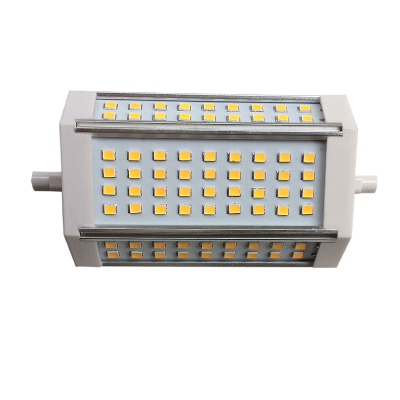 Super bright! <font><b>R7S</b></font> SMD2835 SMD5730 AC85V-265V <font><b>30W</b></font> 35W 118mm J118 luminaire bulb Replace Halogen floodlight Lamp <font><b>LED</b></font> lights 5pcs image