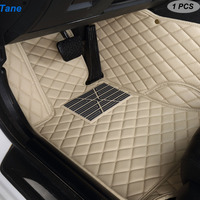 Tane leather car floor mats For chevrolet captiva aveo t300 tahoe cruze 2012 lacetti colorado accessories carpet rug