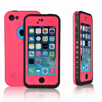 For Apple IPhone 5C Waterproof Shockproof Diving 360 Full Protective Water Proof Dirt Snow Durable Case