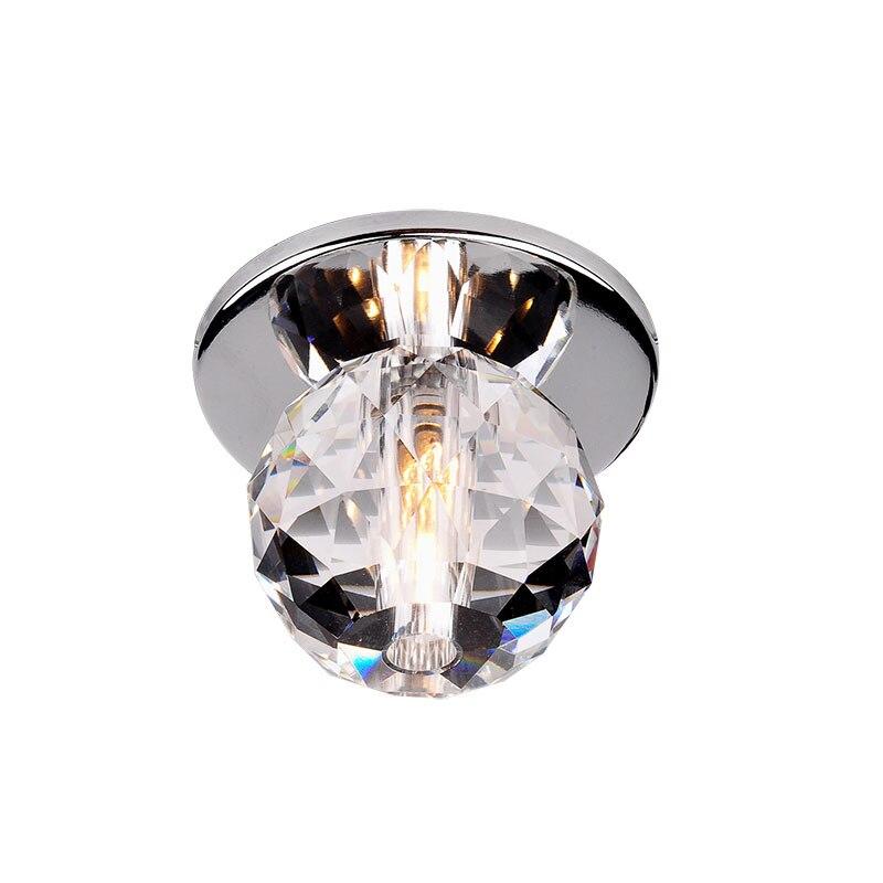 cristal conduziu a lampada do teto mini corredor varanda iluminacao sala de estar decoracao teto led