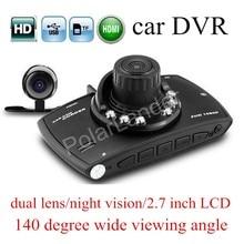 Big sale G30 dual lens 2.7″ inch LCD screen Car DVR 140 Degree Wide viewing Angle HD Car Camera Recorder Night Vision G-Sensor Dash Cam