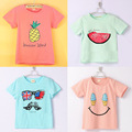 2017 New Kids Clothes Boys Girls T Shirt Multicolor Optional Children Clothing T Shirts /Children's T-shirt / Children Top Tee