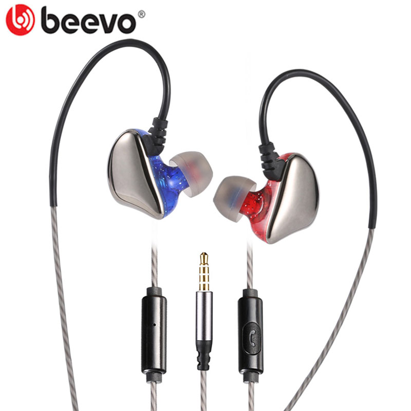 BEEVO X6 3.5mm Wired In-ear Earphones Stereo Bass Earbuds with Microphone Earphone for Smart Phone Samsung Huawei Xiaomi MP3/4 3 5mm heavy bass stereo earphone for dexp ixion mq 3 5 earbuds headsets with microphone metal in ear earphones