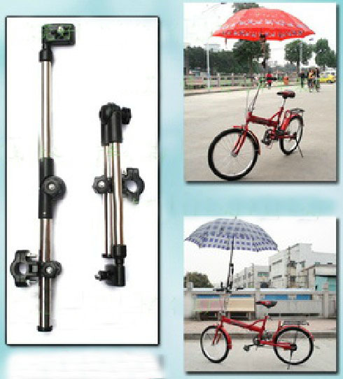 Adjusted Stainless Steel Type C Mountain Bike Umbrella Stents Outdoor Sunshade Cycling Umbrella Stands 10Pcs / Lot Free Shipping ...
