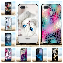 For Xiaomi Redmi 6 Phone Case Thin Soft TPU Silicone Cover Cute Cat Patterned Coque Capa