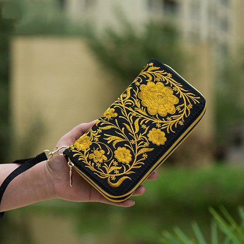 tendência nacional bordado bordados feitos Tipo de Fecho : Zíper