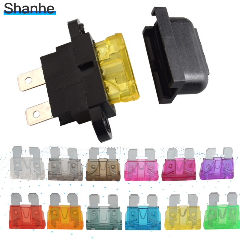 middle car fuse holder anti fire and waterproof fuses box with ...  aliexpress
