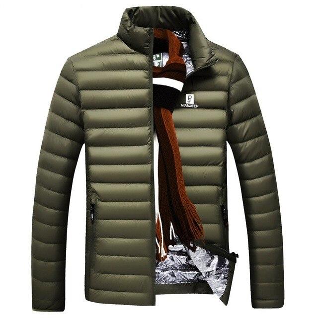 Пуховик мужчин 2017 белая утка вниз пальто мужчины ультра свет пуховик мужчин случайные высокое качество пальто куртки мужчины 781