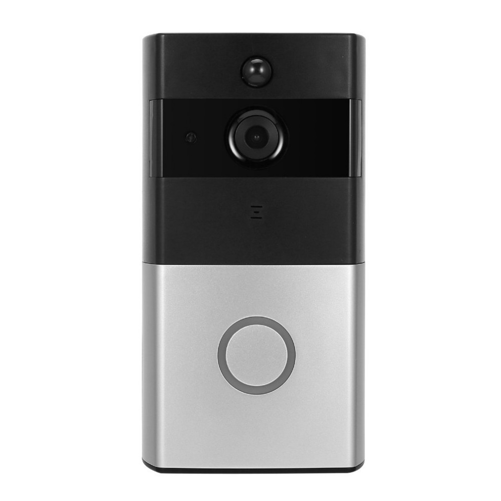 HD 720P WIFI Visual Doorbell Wireless Intercom Doorbell PIR Monitor Night Vision Intelligent Doorbell Support APP Remote Control smart wifi video doorbell night vision mobile remote intercom 120 degree pir wireless intelligent visual doorbell
