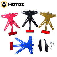 ZS MOTOS 1 Set For Yamaha Motorcycle Conversion Scooter Moped License Plate Frame Licence Holder Motorcycle
