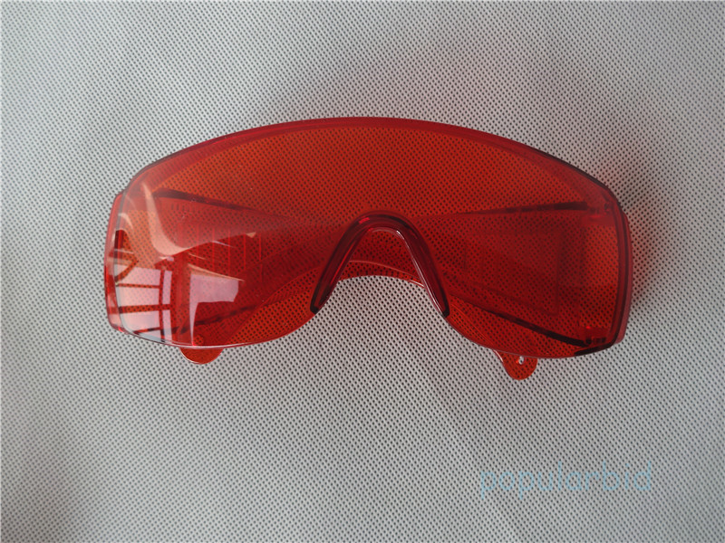 Red Protective Goggles Glasses For Safety Dental Curing