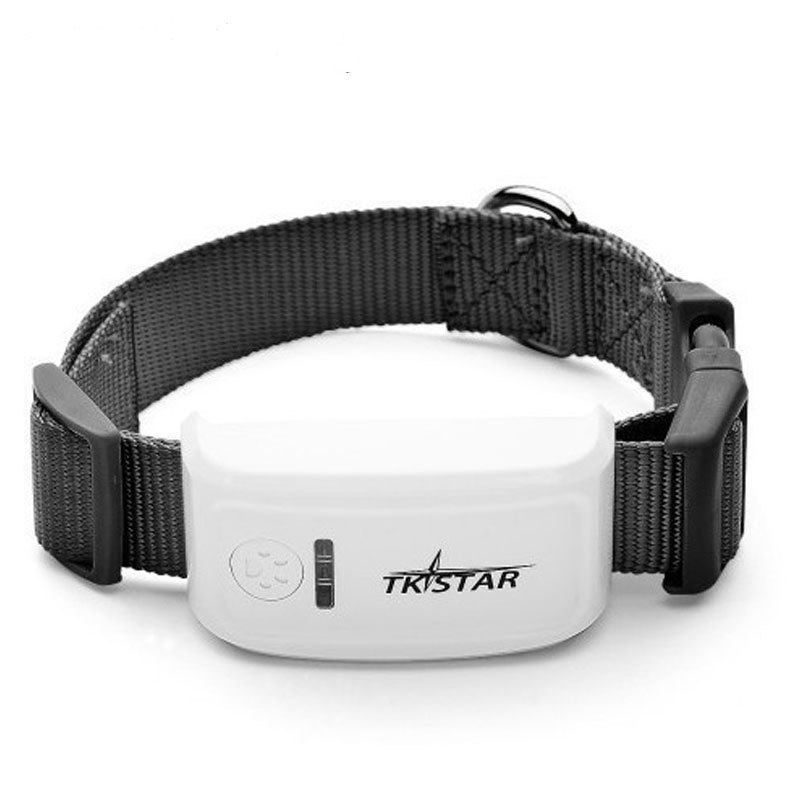 Mini GPS <font><b>Tracker</b></font> With Collar Waterproof Real Time Locator Rastreador Localizador Chip For Pets <font><b>Dogs</b></font> Perro Pigs Tracking LK909