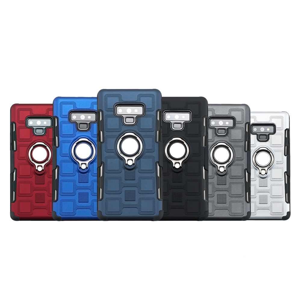 Для samsung S8 S10 плюс Чехол Зажимы 3 в 1 бронированный чехол для samsung примечание 9 galaxy S9 плюс палец кольцо Coque для galaxy Note 8 S10e