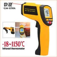 RZ Thermometer Infrared Thermometer Outdoor Electronic Handheld Laser Thermometer Non Contact Fridge Digital IR Temperature