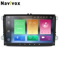 Navivox car radio RK3188 /3688 RAM 4G For vw dvd android multimedia android 7.1/8.0 For vw 2007 2012 For Goif For skoda