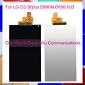 """Alta Qualidade 5.5 """"testado novo smartphone para lg g3 stylus d690 d690n display lcd tela do monitor do painel frete grátis código de acompanhamento"""