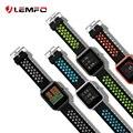 LEMFO умные аксессуары для Xiaomi Amazfit Bip Smart Watch 20 мм молодежный Спорт Smartwatch запястье ремешок силиконовый двойной цвет - фото