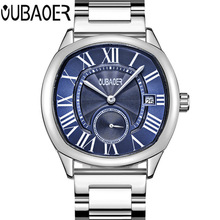 2018 Men Watch NEW OUBAOER Luxury Brand Erkek Kol Saati Date Clock Men Sports Watches Men Quartz Watch Male Relogio Masculino north luxury dual display men s watch men wrist watch analog digital sport watch men clock relogio masculino erkek kol saati