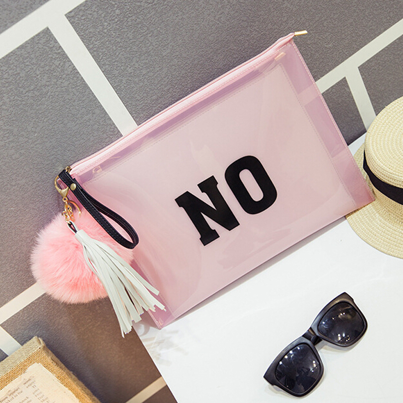 Famous design PU and PVC clutch bag envelope bag wrist bag women s handbags