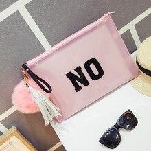 Famous design PU and PVC clutch bag envelope  bag wrist bag women's handbags