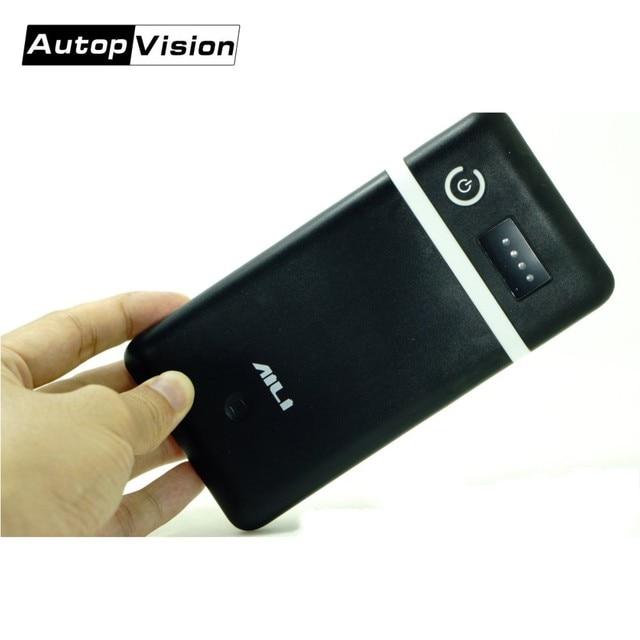 Портативный Регулируемый Мобильный Внешний аккумулятор 3,6 В, 5 В, 6 в, 9 В, 12 В, зарядное устройство, чехол с линией постоянного тока для камеры видеонаблюдения, сотового телефона, планшета
