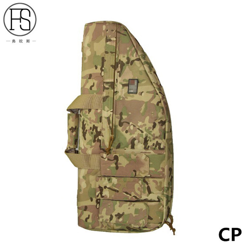 High Quality 70CM Tactical Military Rifle Case Gun Bag Shoulder Strap Airsoft Sports Hunting Shooting Paintball Combat Backpack in Hunting Bags from Sports Entertainment