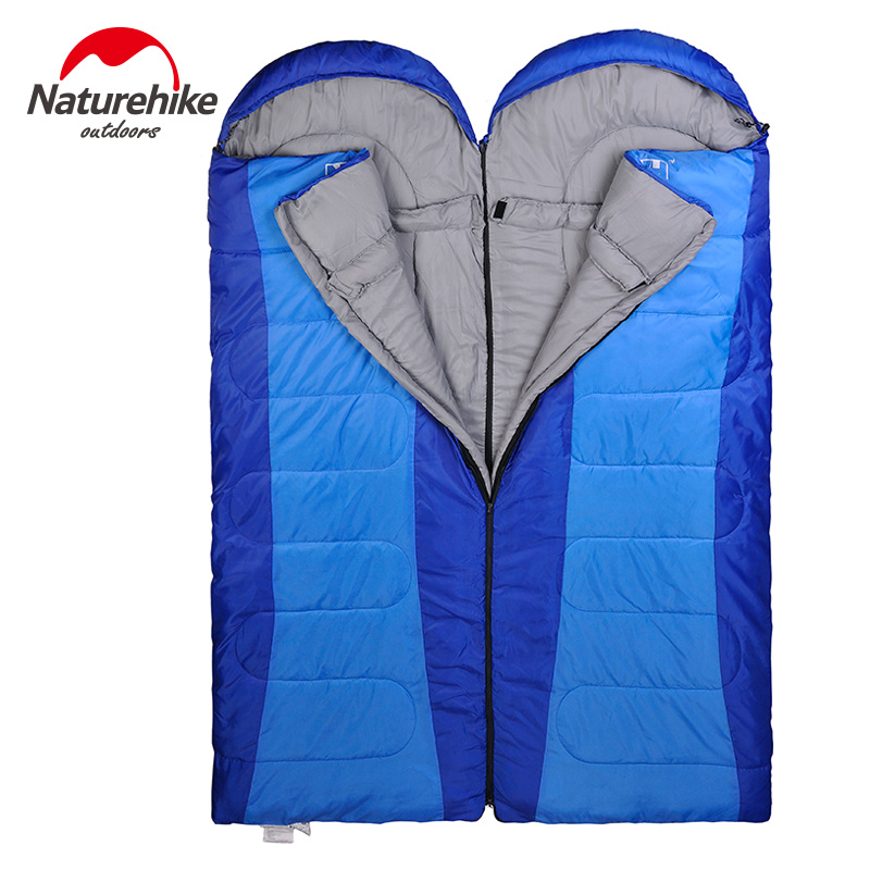 Naturehike Spring and Autumn font b Camping b font Sleeping Bag Soft Sleeping Bags Envelope Spliced