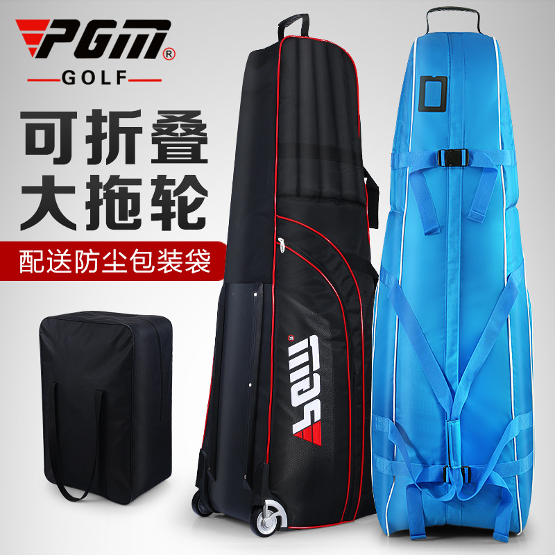 Фотография PGM Golf Thickened Aviation Bag  Collapsible foldable bag  with wheels A4723