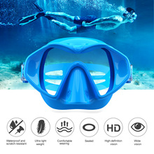 Professional Underwater Diving Mask Scuba Snorkel Swimming Goggles Full Silicone Anti-fog Water Glasses For Adult Swim Equipment