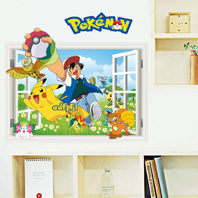 Pokemon Wall Decor compare prices on pokemon bedroom decor- online shopping/buy low