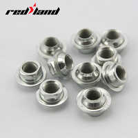 Bicycle Hub Nut Fixed Gear Front Rear Axle Screw S/L Shaft Supplies Bike Parts Drop Ship 2Pc/Set
