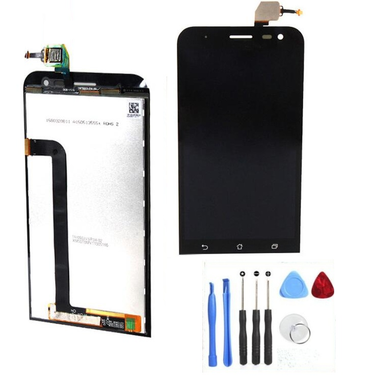 100 Genuine LCD Display and Touch Screen Digitizer Assembly For Asus zenfone 2 Laser 5 0