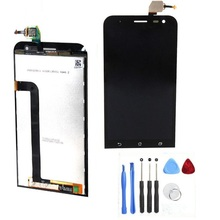 100% Genuine LCD Display and Touch Screen Digitizer Assembly For Asus zenfone 2 Laser 5.0″ ZE500KL Me500kl Z00ED + Repair tools