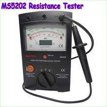1 шт. MASTECH MS5202 100000 Мом Цифровой Аналоговый Тестер Изоляции tramegger тестер изоляции высокого напряжения
