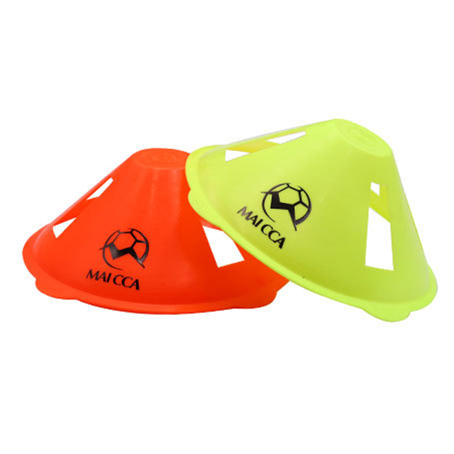 10pcs/lot Soccer Discs Bucket Marker football training Accessories Training Sign Flat Pressure Resistant Cones Marker