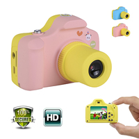 Small Children Camera Full HD 1080P Mini Digital Cam 2 Mega Pixels 1.5 Inch Screen Portable Toy Camera Birthday Gifts for Kids