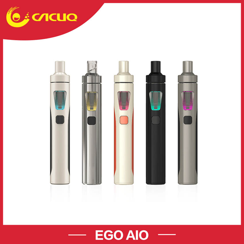 Original Joyetech Ego AIO kit with 2ml Atomizer 1500mah battery Capacity Anti-leaking Structure Starter kit electronic cigarette