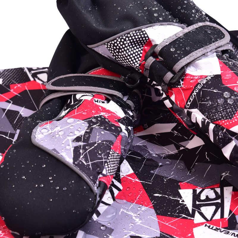 ドロップシッピング子供熱 Utral ロング防水と防風男の赤ちゃんスキー雪手袋ランニング手袋冬の手袋女の子