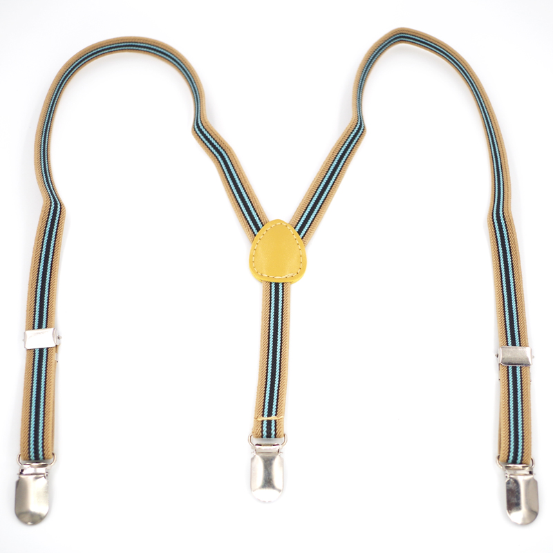 New Baby Suspenders Kids 3clips Braces Elastic Straps Boy Suspensorio Tirantes Children /student Straps